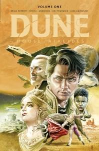 Dune_HouseAtreides_v1_LE_HC_Cover-198x300 ComicList Previews: DUNE HOUSE ATREIDES VOLUME 1 HC