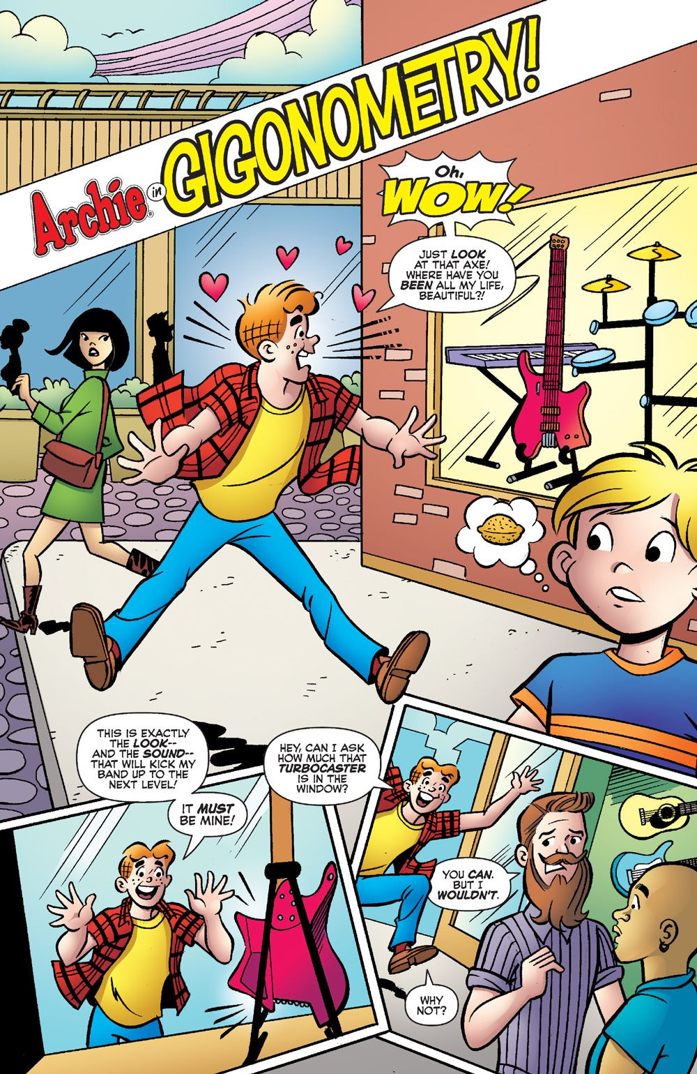EverythingsArchie_01-3 ComicList Previews: ARCHIE 80TH ANNIVERSARY EVERYTHING'S ARCHIE #1