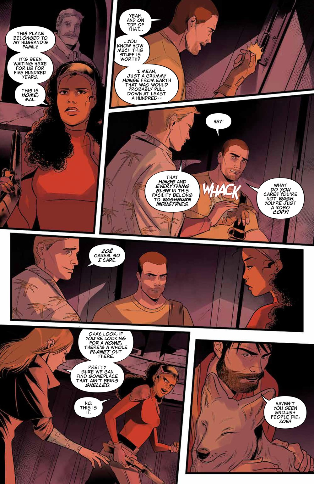 Firefly_030_PRESS_5 ComicList Previews: FIREFLY #30