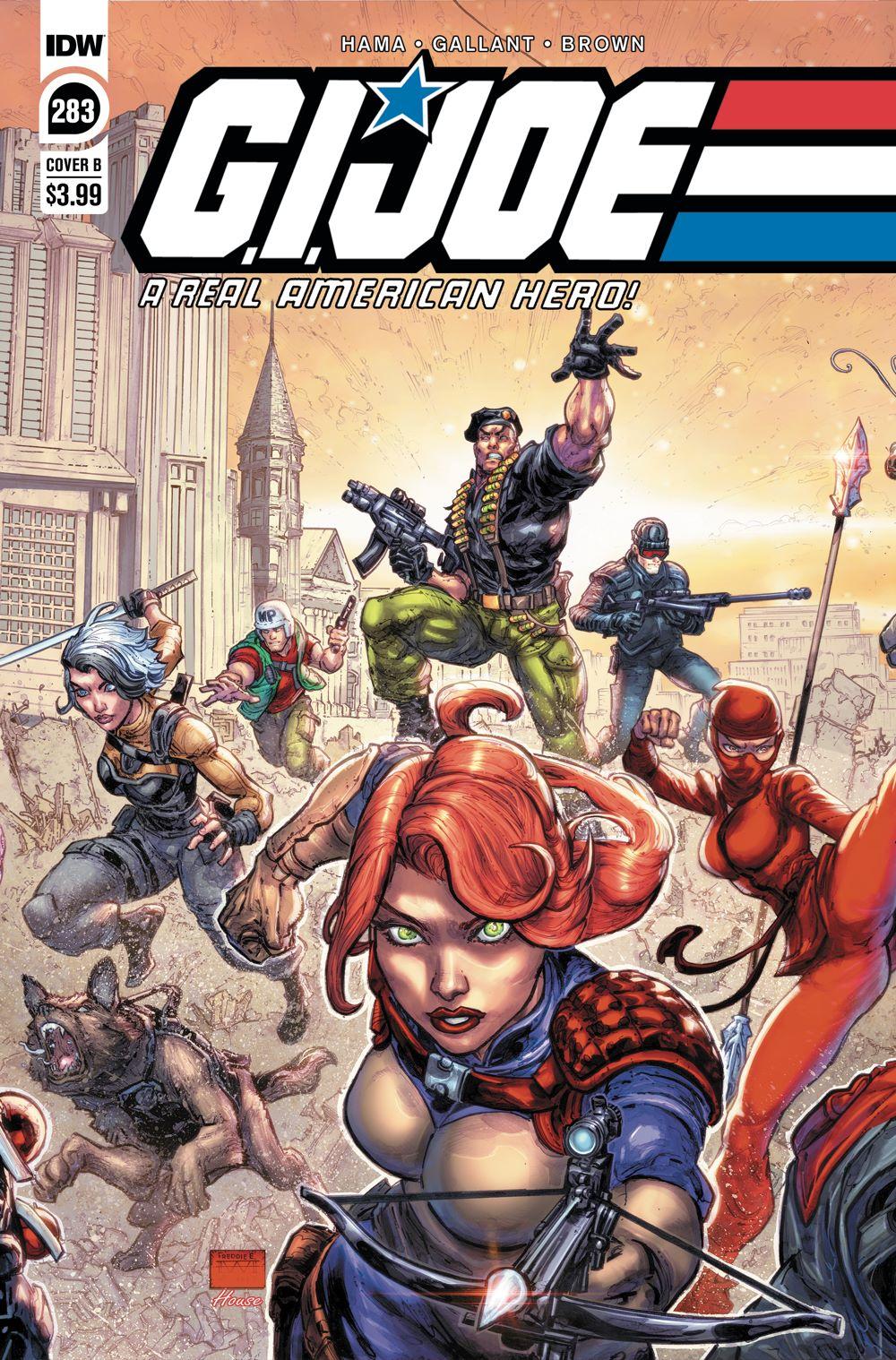 GIJoeRAH283-coverB ComicList Previews: G.I. JOE A REAL AMERICAN HERO #283