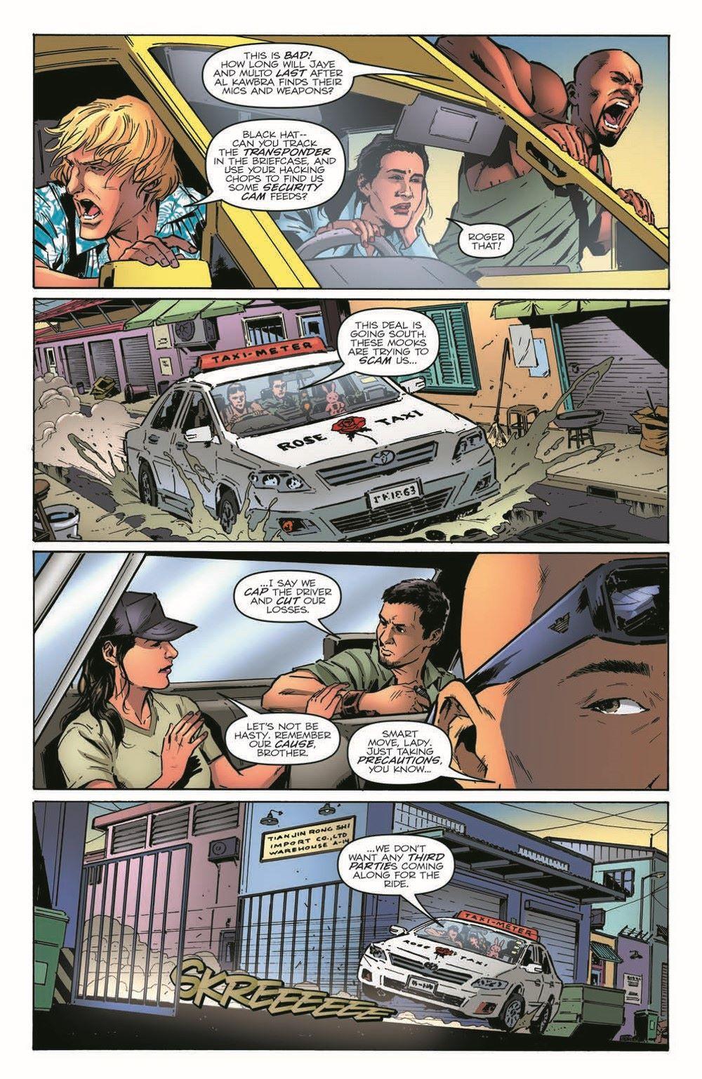 GIJoeRAH283-pr-6 ComicList Previews: G.I. JOE A REAL AMERICAN HERO #283