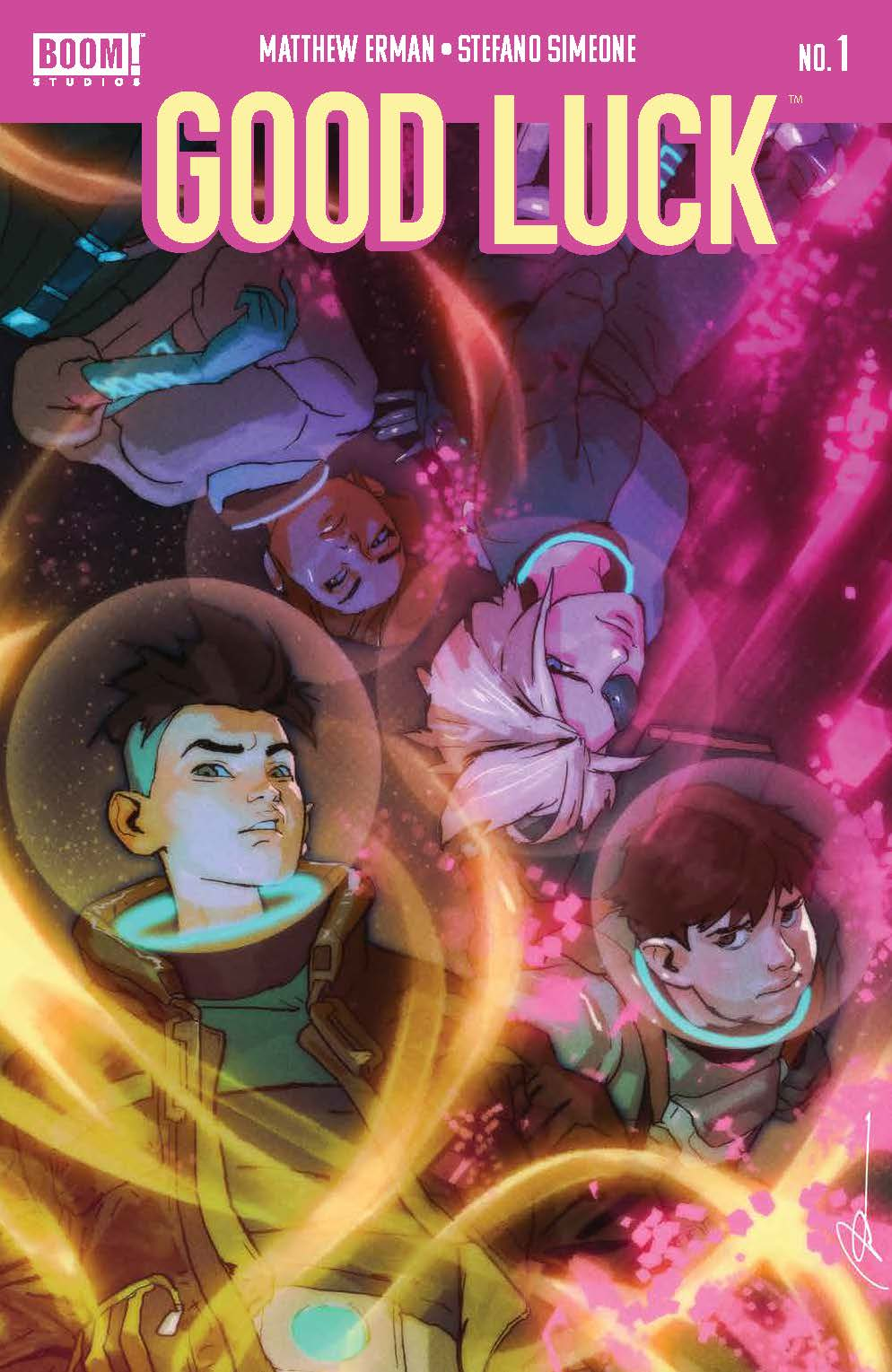 GoodLuck_001_Cover_A2_Main ComicList: BOOM! Studios New Releases for 06/23/2021