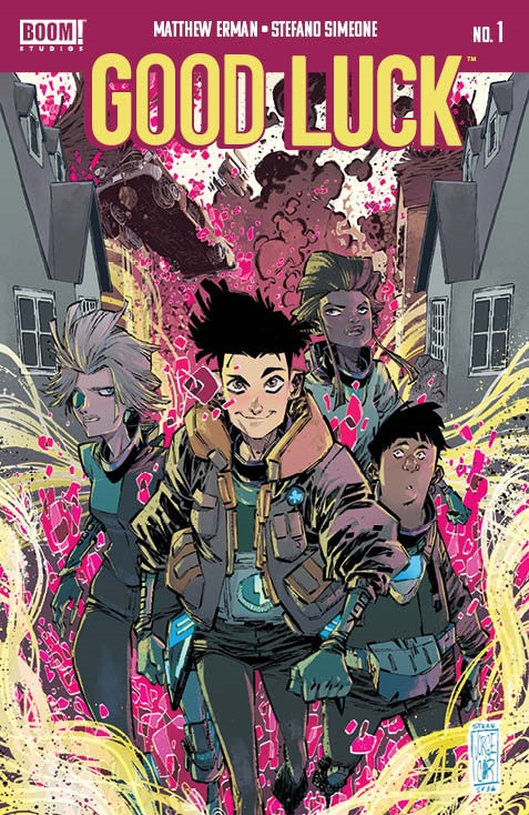 GoodLuck_001_Cover_A_Main ComicList: BOOM! Studios New Releases for 06/23/2021