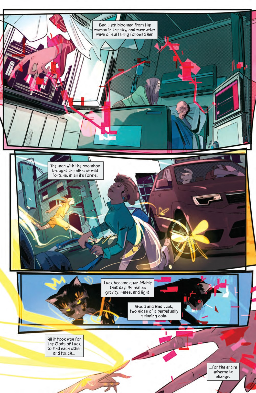 GoodLuck_001_PRESS_5 ComicList Previews: GOOD LUCK #1 (OF 5)