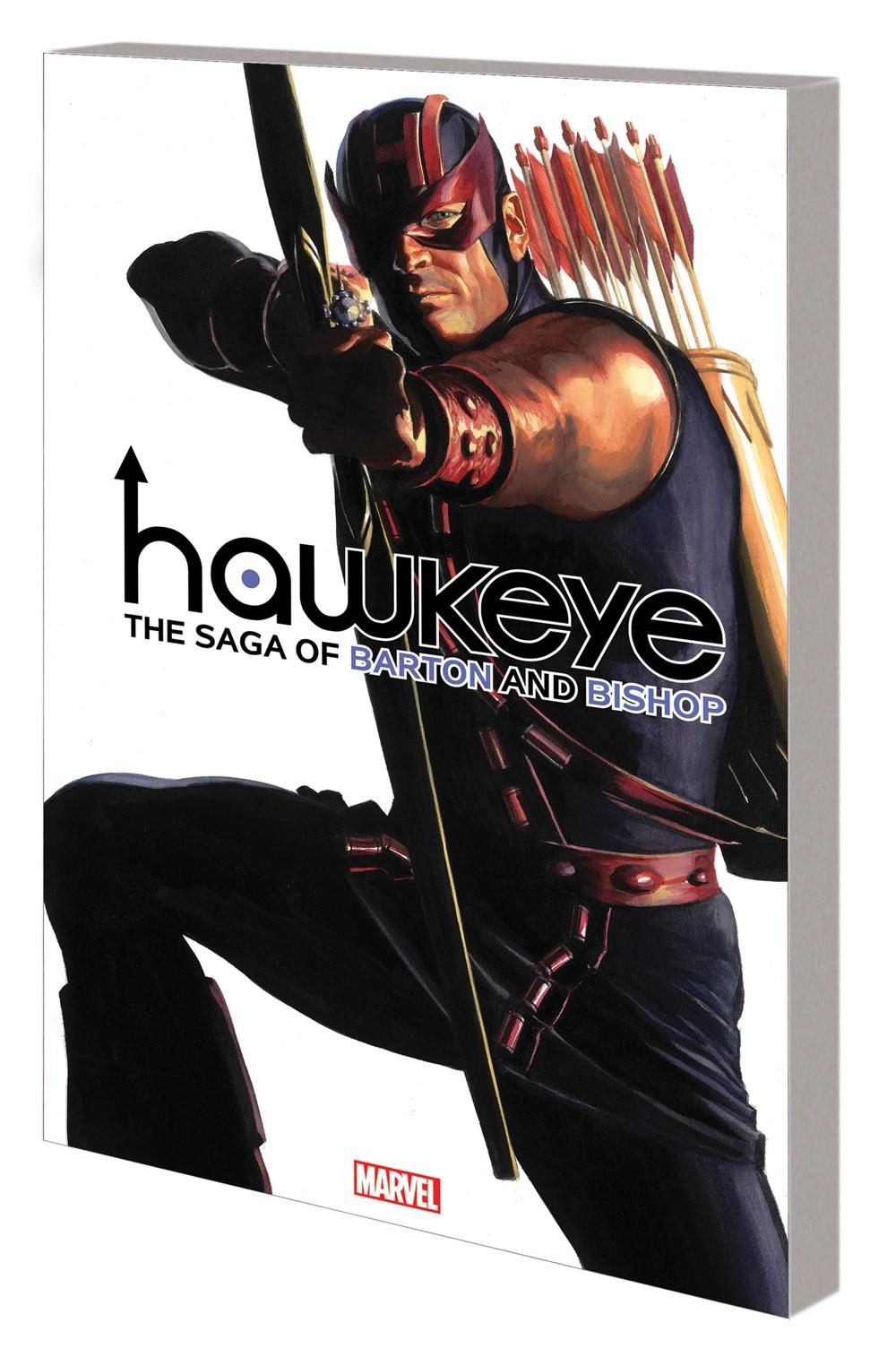 HAWKEYEFASAGA_TPB Marvel Comics September 2021 Solicitations