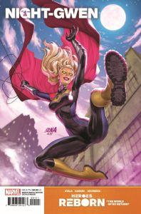 HRNIGHTGWEN2021001_Preview-1-198x300 ComicList Previews: HEROES REBORN NIGHT-GWEN #1