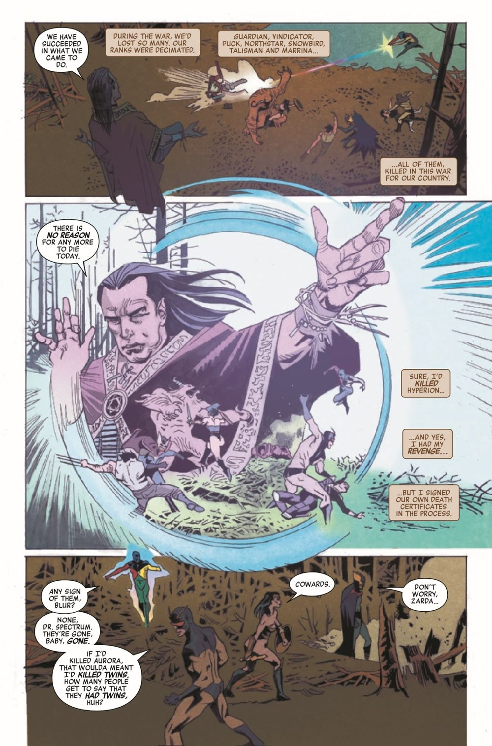 HRWEAPXFINALF2021001_Preview-5 ComicList Previews: HEROES REBORN WEAPON X AND FINAL FLIGHT #1