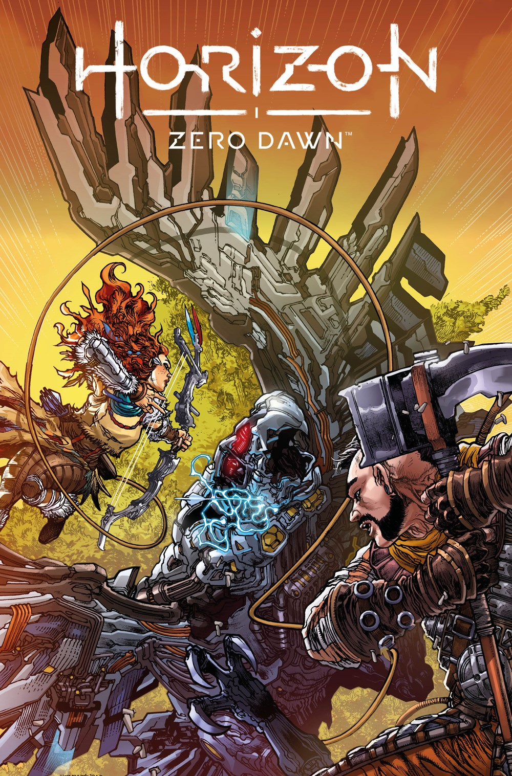 HorizonZeroDawn23_00_Cover_C-1 Titan Comics September 2021 Solicitations