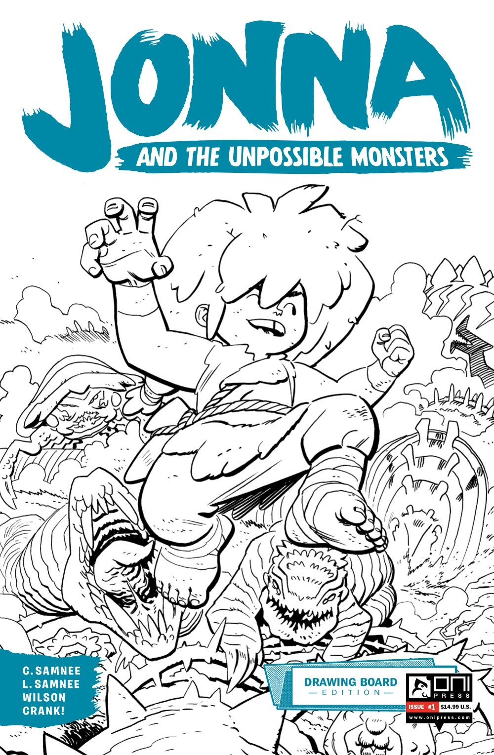 JONNA-1-DB-PGS-01-32-FNL-1-01 ComicList Previews: JONNA AND THE UNPOSSIBLE MONSTERS #1 (DRAWING BOARD EDITION)