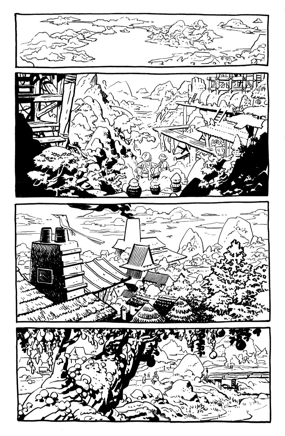 JONNA-1-DB-PGS-01-32-FNL-1-03 ComicList Previews: JONNA AND THE UNPOSSIBLE MONSTERS #1 (DRAWING BOARD EDITION)