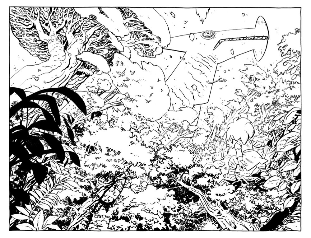 JONNA-1-DB-PGS-01-32-FNL-1-08 ComicList Previews: JONNA AND THE UNPOSSIBLE MONSTERS #1 (DRAWING BOARD EDITION)