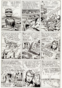 Jack-Kirby-and-Dick-Ayers-Avengers-1-Page-4-e1623347371362-211x300 Loki Original Art at Auction: Just In Time for Disney+