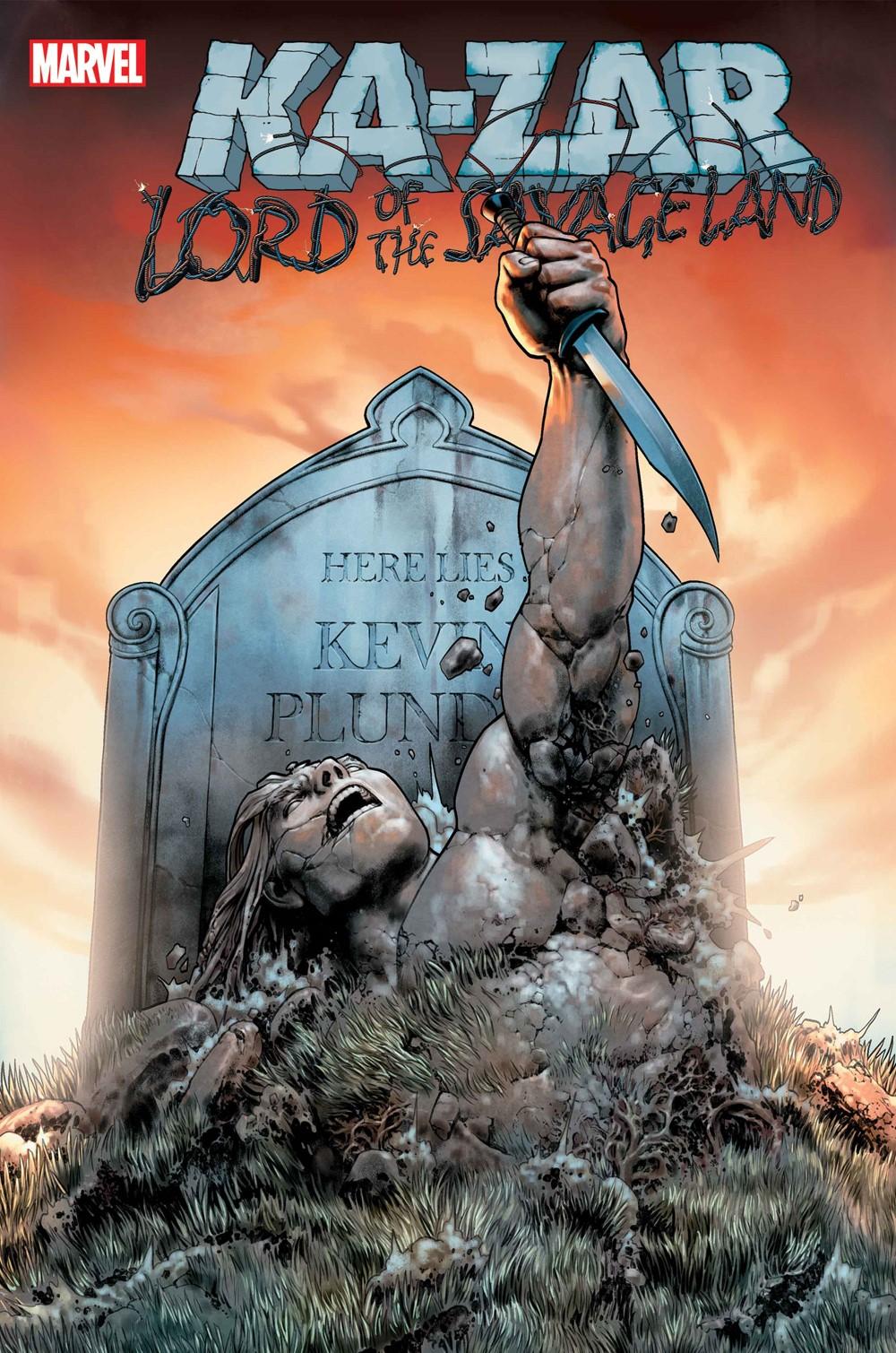 KAZARLORDSAVLAND2021001_COV-1 Marvel Comics September 2021 Solicitations