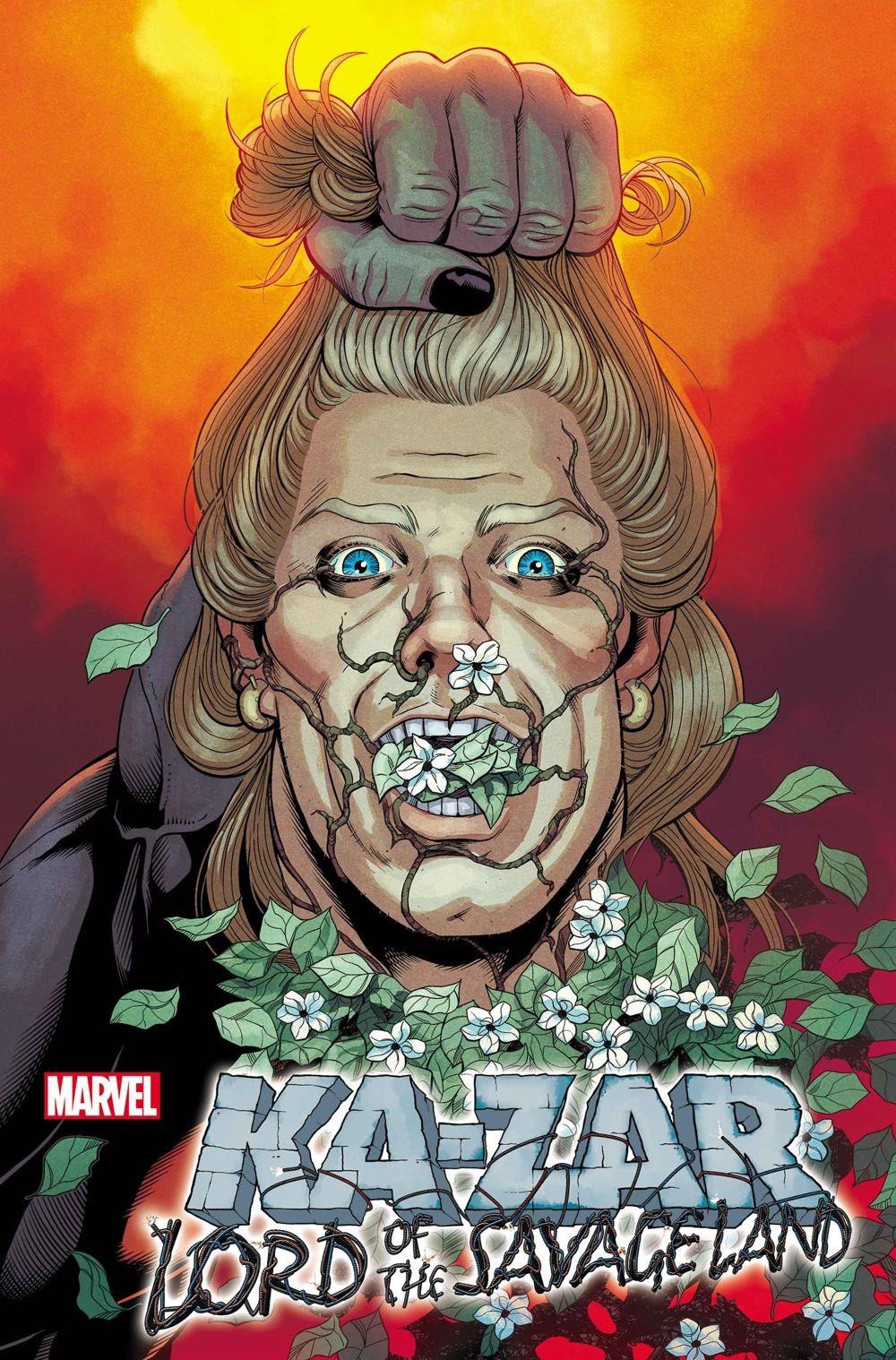 KAZARLORDSAVLAND2021001_variant First Look at KA-ZAR: LORD OF THE SAVAGE LAND #1 from Marvel Comics