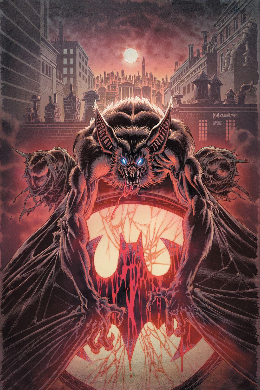 MAN-BAT-COVER-COLOR DC Comics September 2021 Solicitations