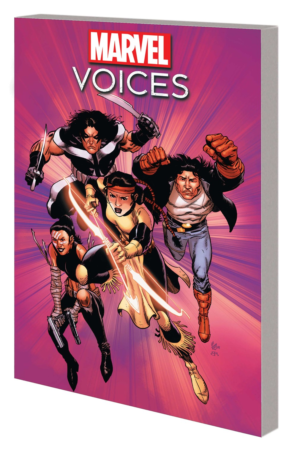 MARINDVOICES_TPB Marvel Comics September 2021 Solicitations