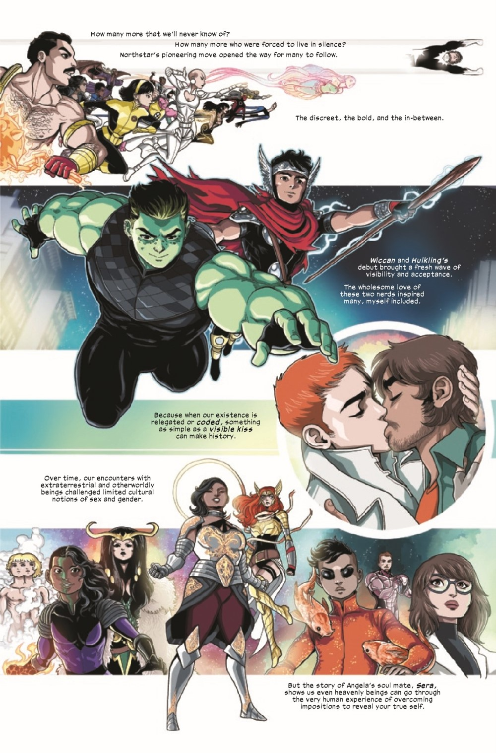 MARVOICESPRIDE2021001_Preview-05 ComicList Previews: MARVEL'S VOICES PRIDE #1