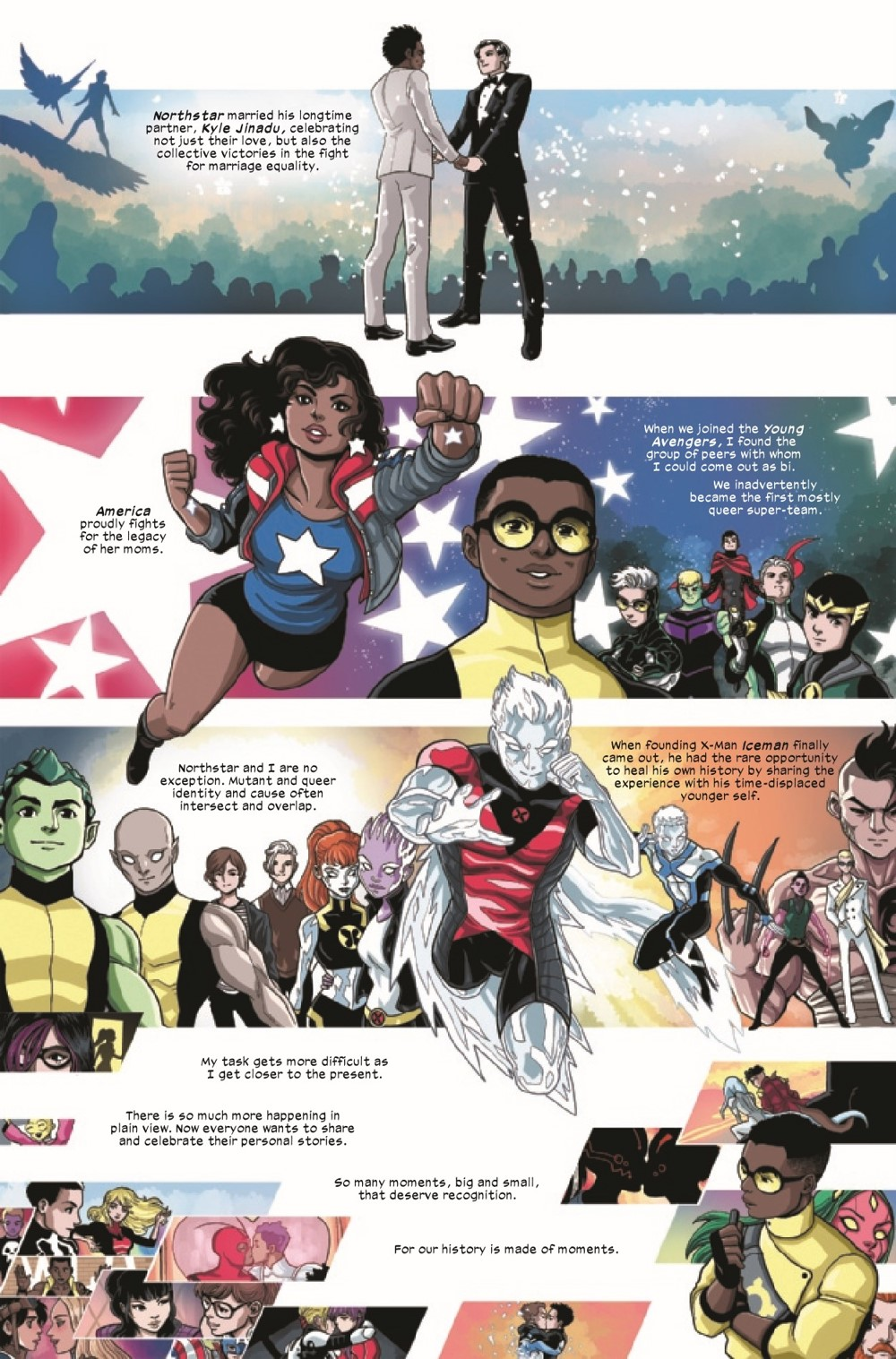 MARVOICESPRIDE2021001_Preview-06 ComicList Previews: MARVEL'S VOICES PRIDE #1