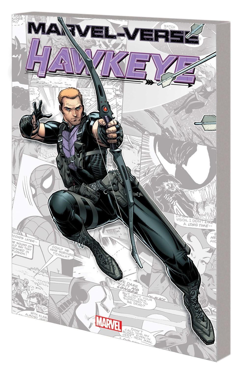 MV_HAWKEYE_GN_TPB Marvel Comics September 2021 Solicitations