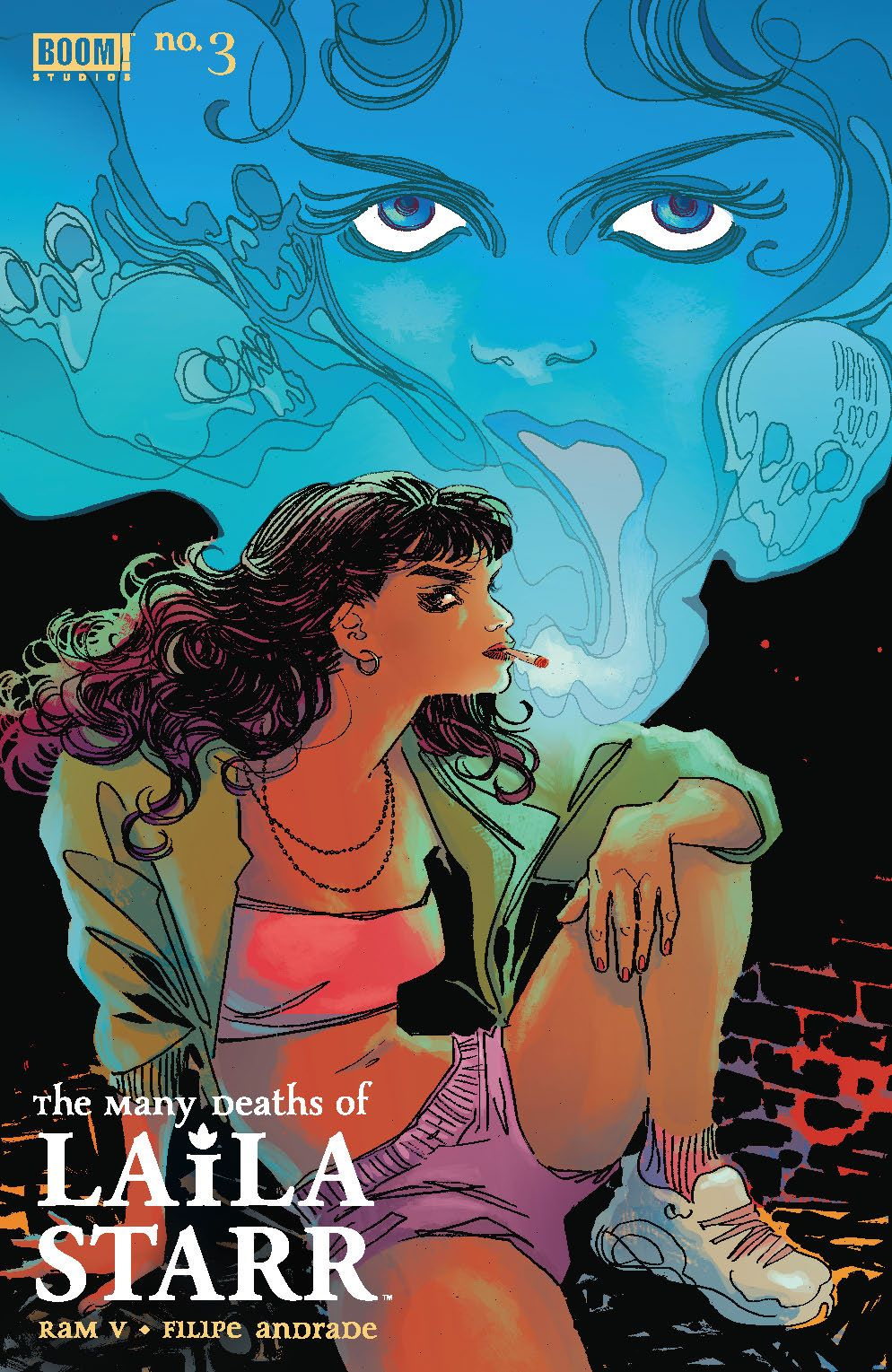 ManyDeathsLailaStarr_003_Cover_B_Foil ComicList Previews: THE MANY DEATHS OF LAILA STARR #3 (OF 5)