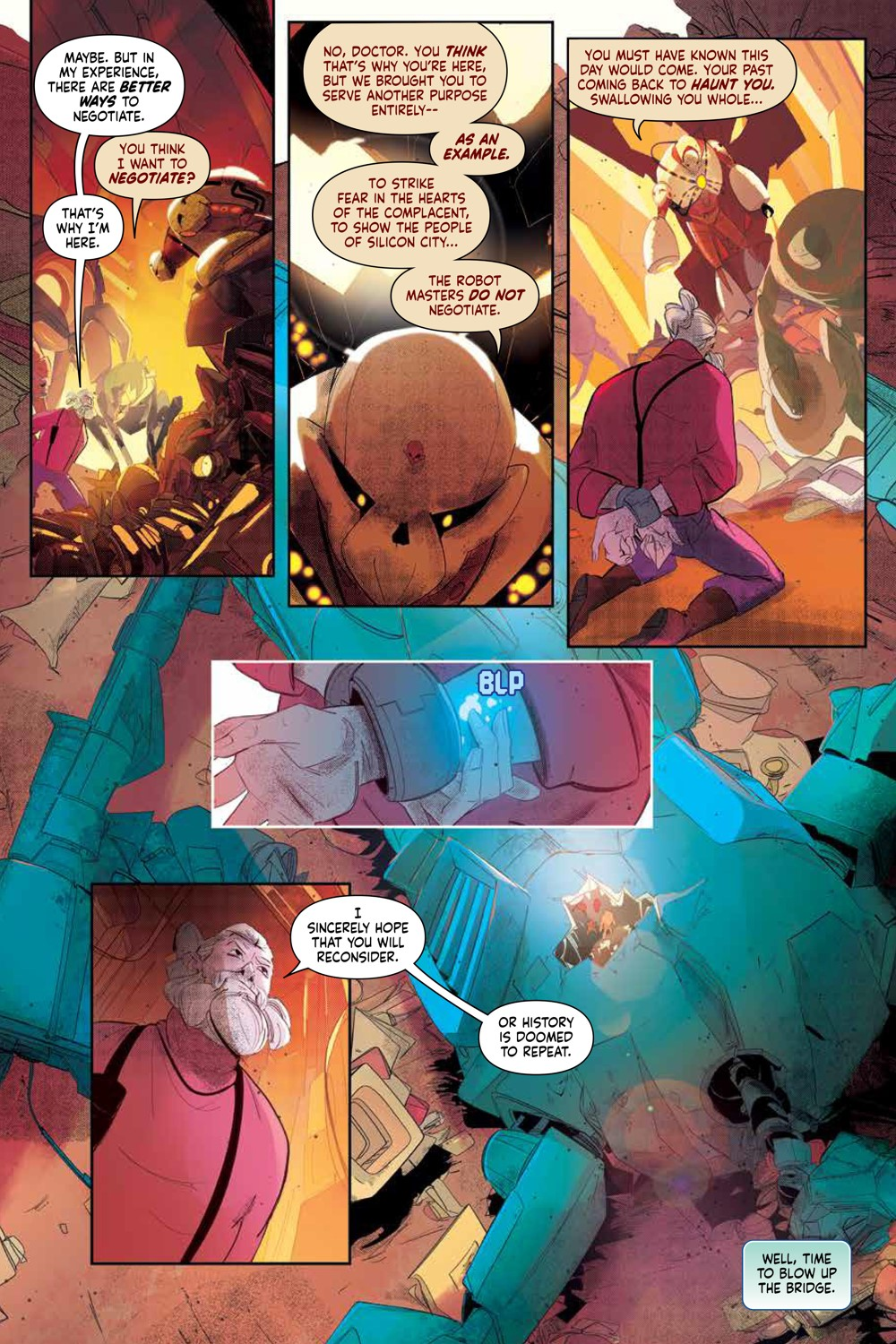 MegaMan_FullyCharged_SC_PRESS_13 ComicList Previews: MEGA MAN FULLY CHARGED TP