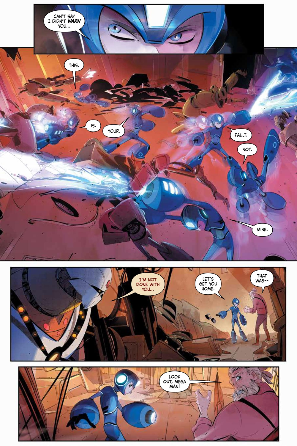 MegaMan_FullyCharged_SC_PRESS_17 ComicList Previews: MEGA MAN FULLY CHARGED TP