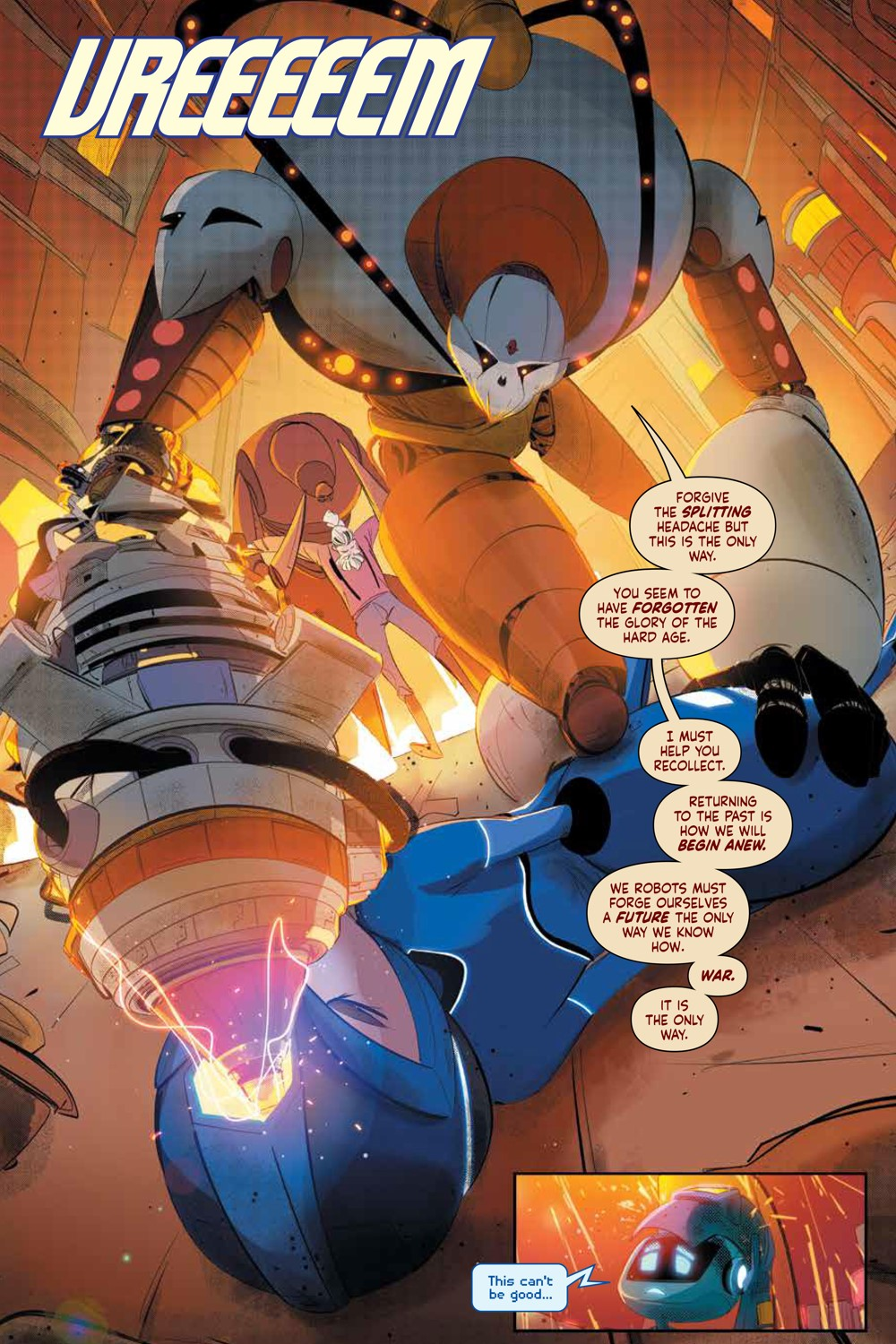 MegaMan_FullyCharged_SC_PRESS_18 ComicList Previews: MEGA MAN FULLY CHARGED TP