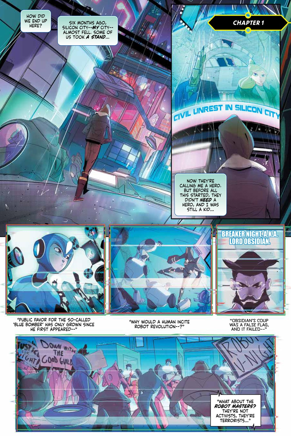MegaMan_FullyCharged_SC_PRESS_7 ComicList Previews: MEGA MAN FULLY CHARGED TP