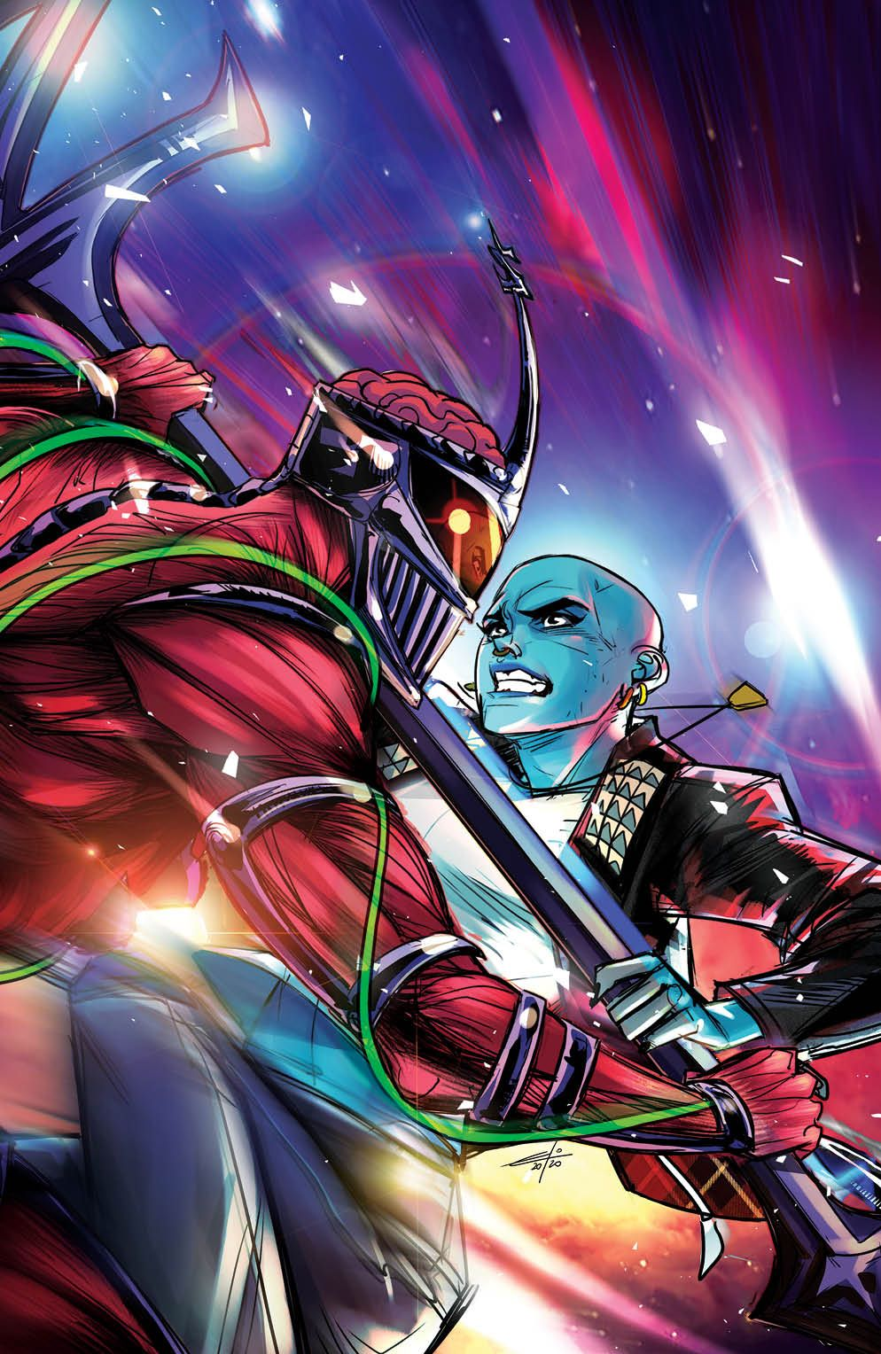 Mighty_Morphin_008_Cover_E_Variant-1 ComicList Previews: MIGHTY MORPHIN #8
