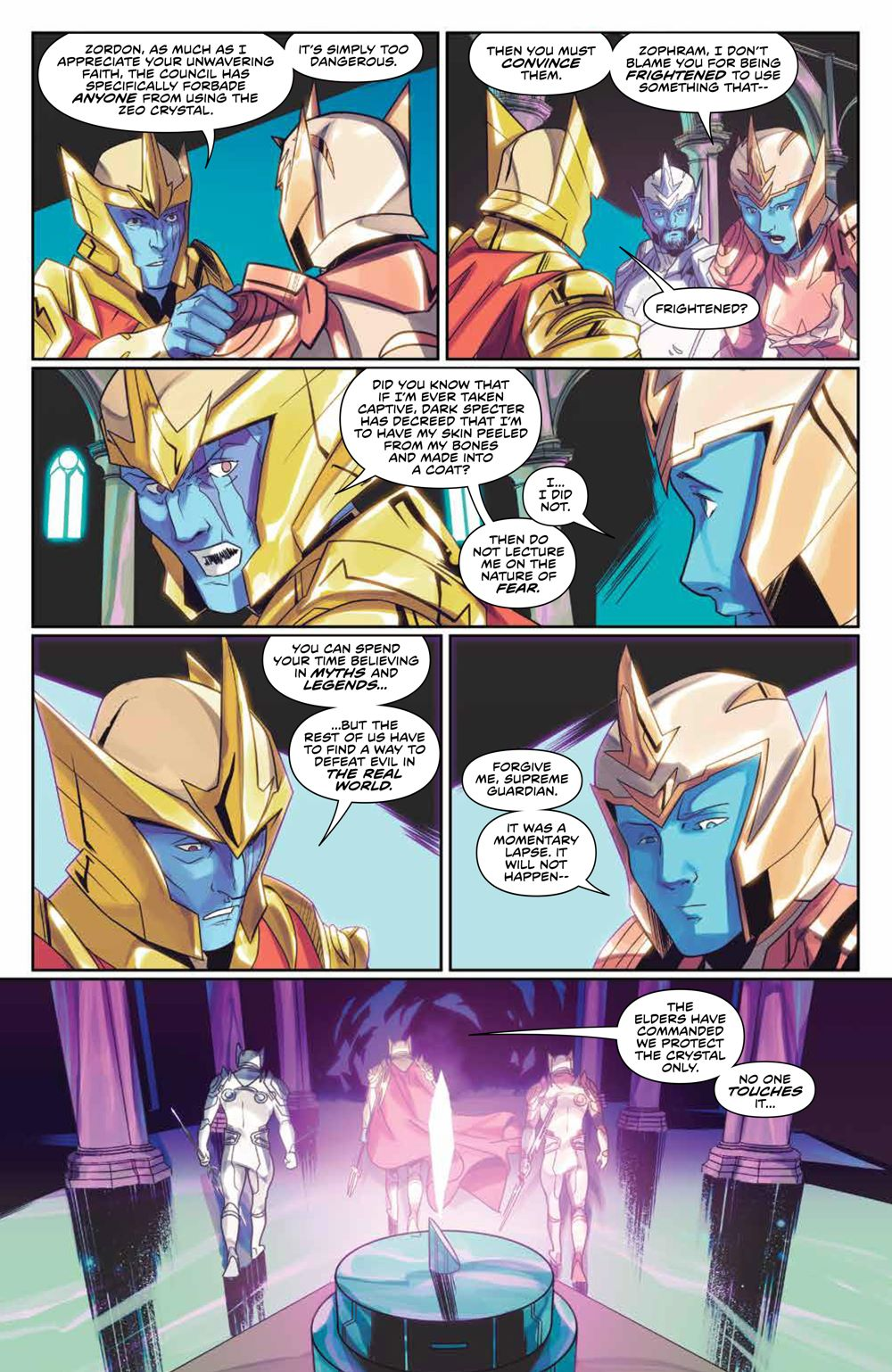 Mighty_Morphin_008_PRESS_6-1 ComicList Previews: MIGHTY MORPHIN #8