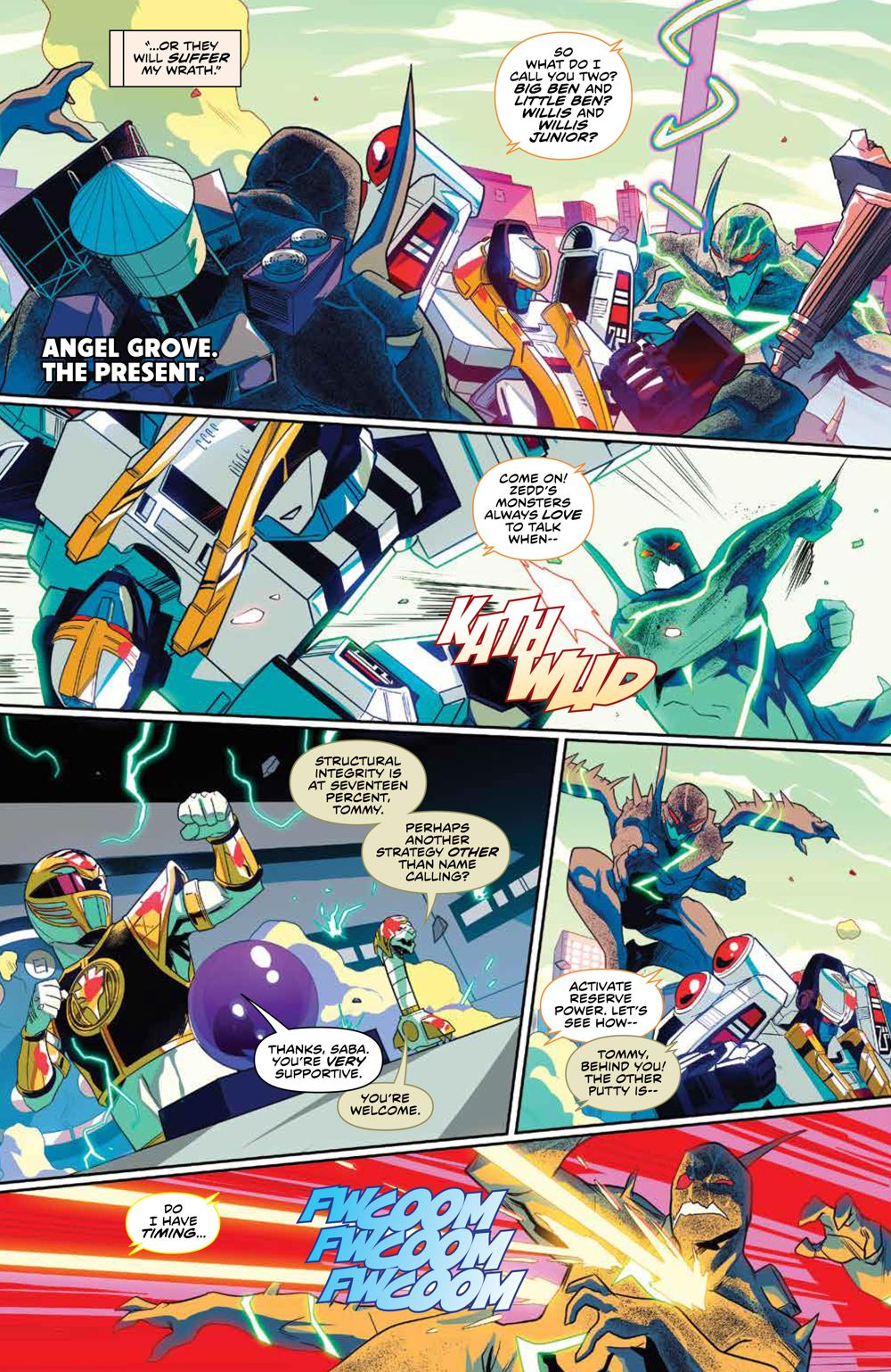 Mighty_Morphin_008_PRESS_7-1 ComicList Previews: MIGHTY MORPHIN #8