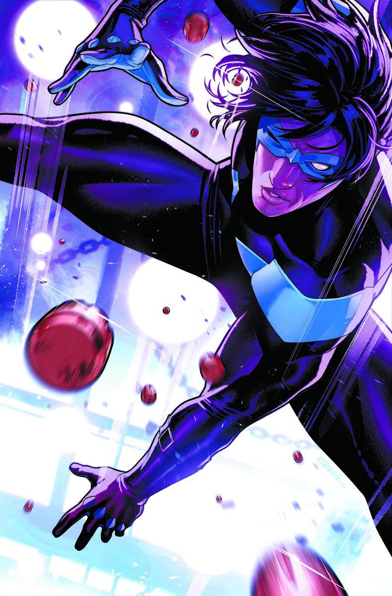 Nightwing-84-Var DC Comics September 2021 Solicitations