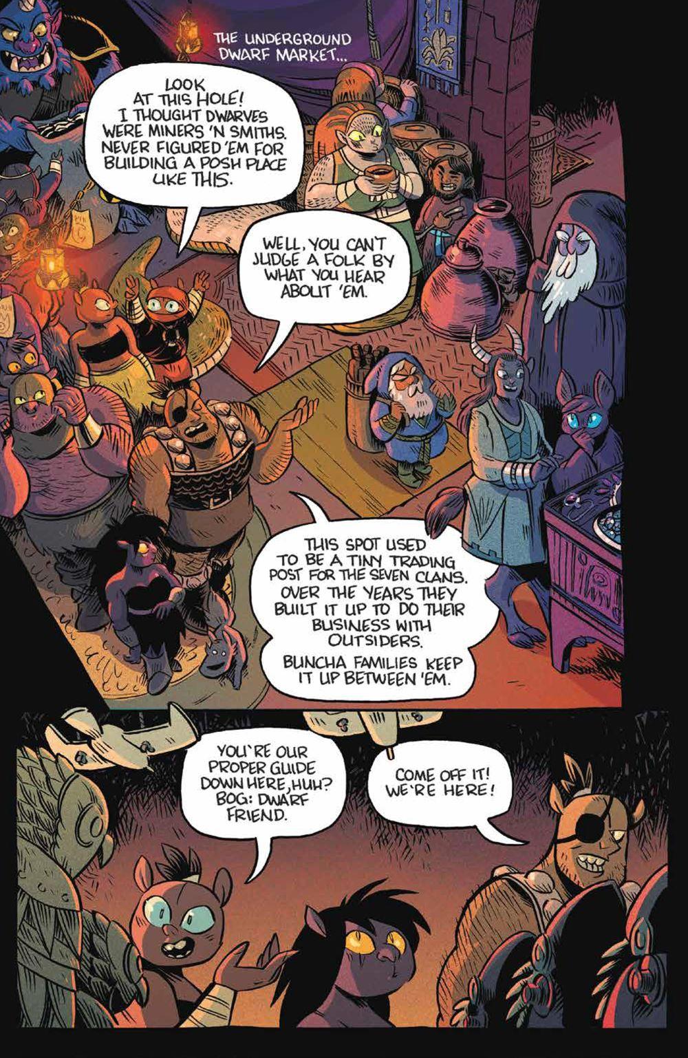 Orcs_005_PRESS_3-1 ComicList Previews: ORCS #5 (OF 6)