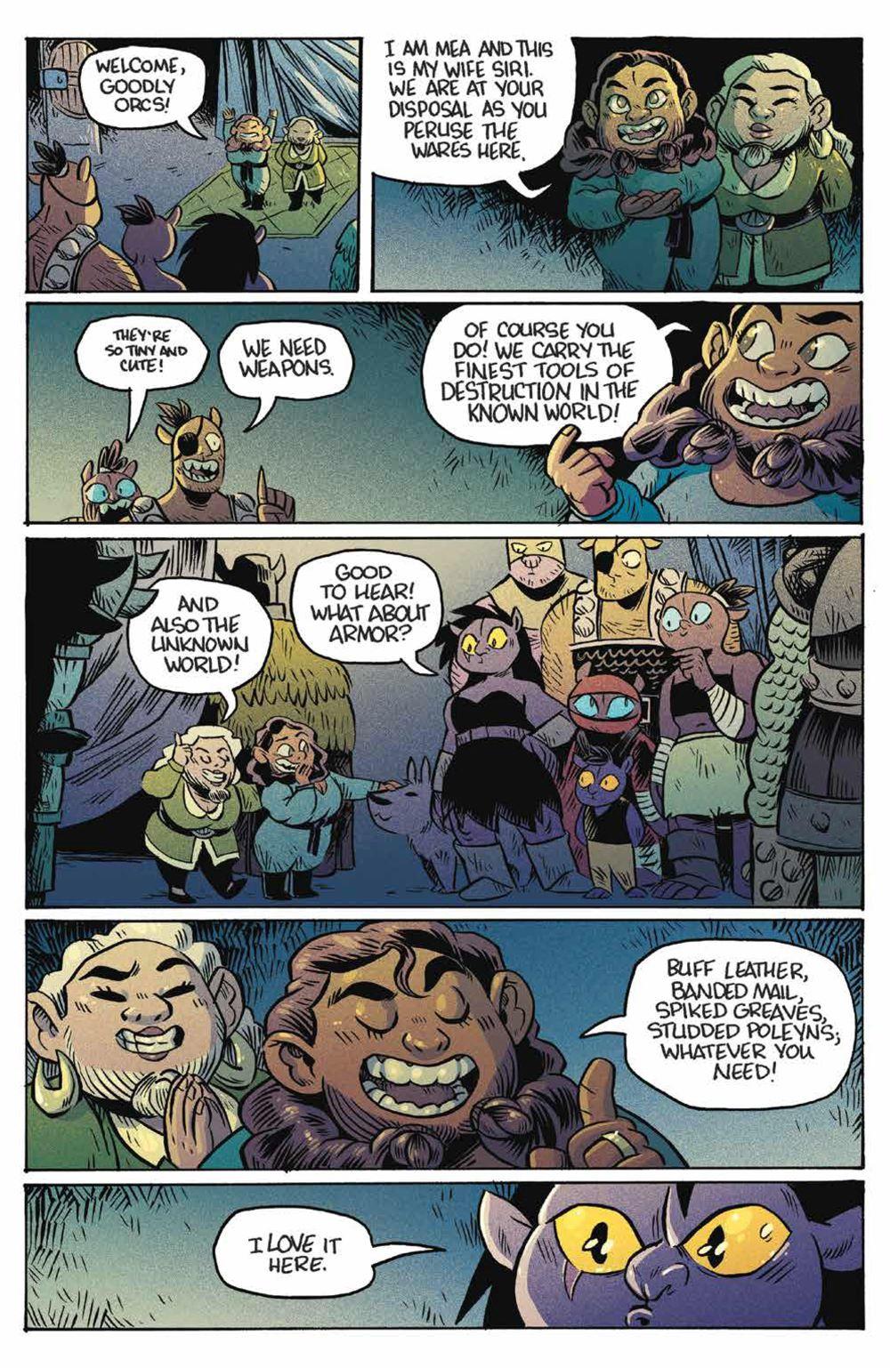 Orcs_005_PRESS_5 ComicList Previews: ORCS #5 (OF 6)