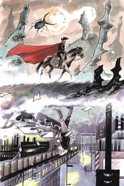 PARA_i4_FC_A_WRK Dark Horse Comics September 2021 Solicitations