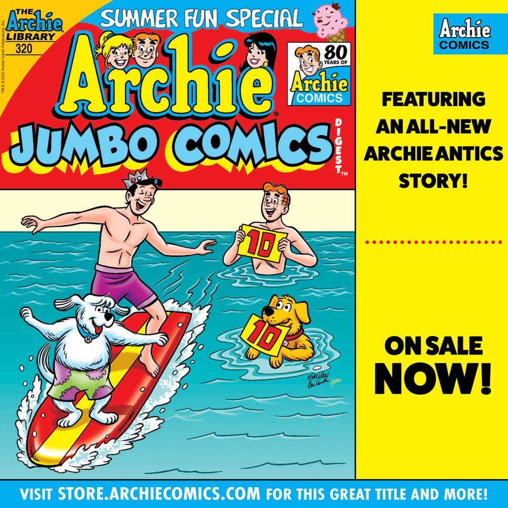 Preorder_Graphic_JUN_2021_OSN_01 ComicList Previews: ARCHIE JUMBO COMICS DIGEST #320