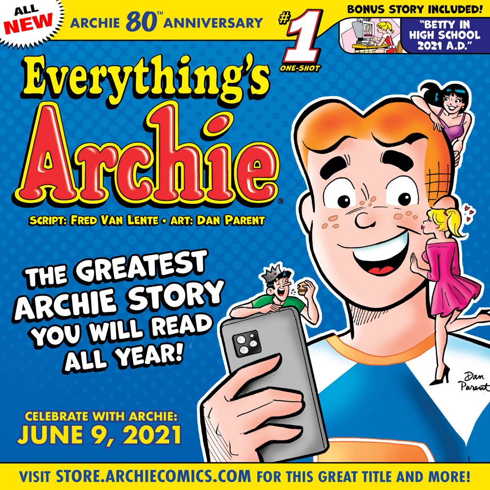 Preorder_Graphic_MAY_2021_07 ComicList Previews: ARCHIE 80TH ANNIVERSARY EVERYTHING'S ARCHIE #1