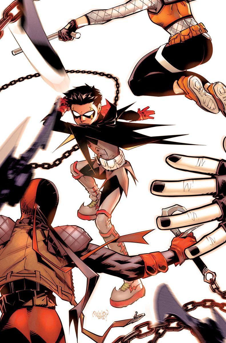 ROBIN-Cover-06 DC Comics September 2021 Solicitations