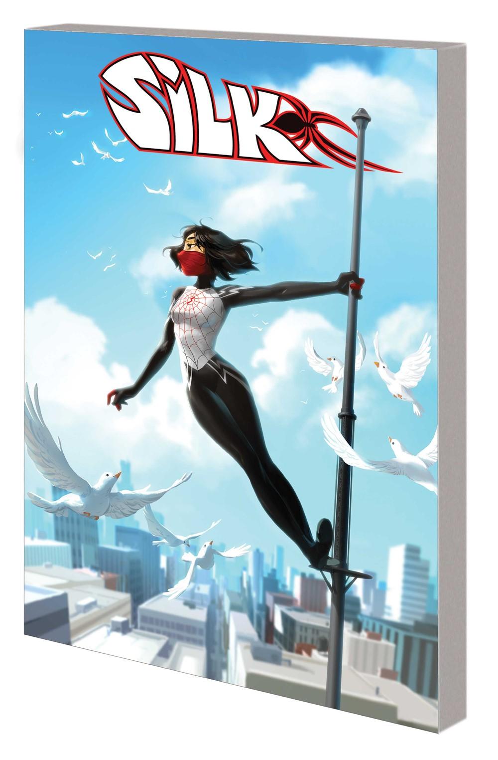 SILK_SPIDERVERSE_VOL_3_TPB Marvel Comics September 2021 Solicitations