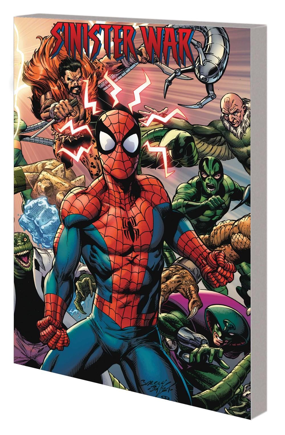 SINISTER_WAR_TPB Marvel Comics September 2021 Solicitations