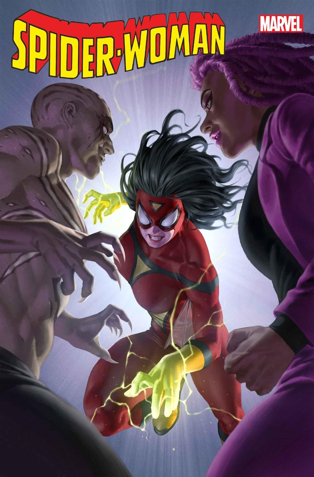 SPIDER-WOMAN_15_Yoon Marvel Comics September 2021 Solicitations