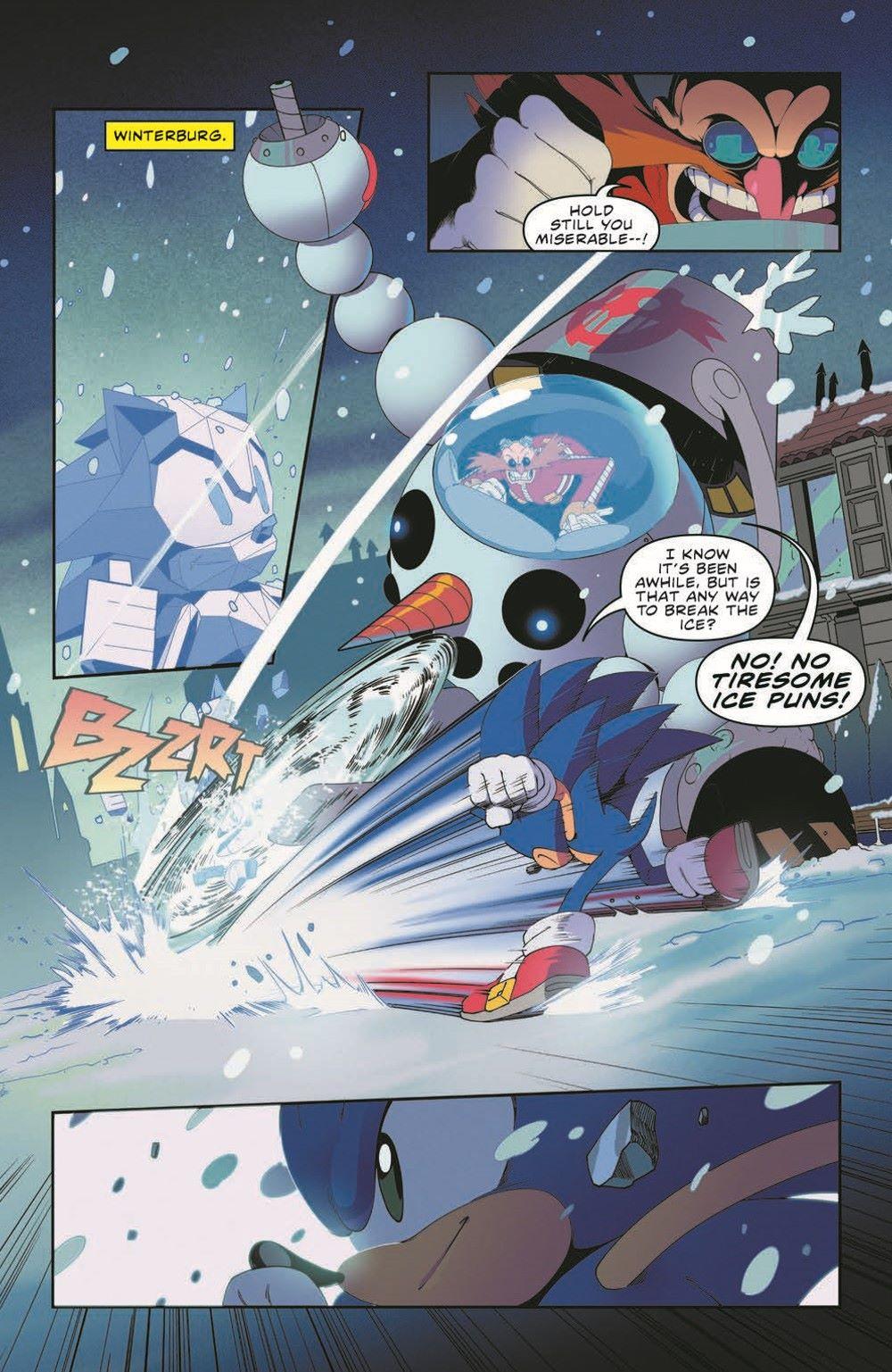 STH41_pr-3 ComicList Previews: SONIC THE HEDGEHOG #41