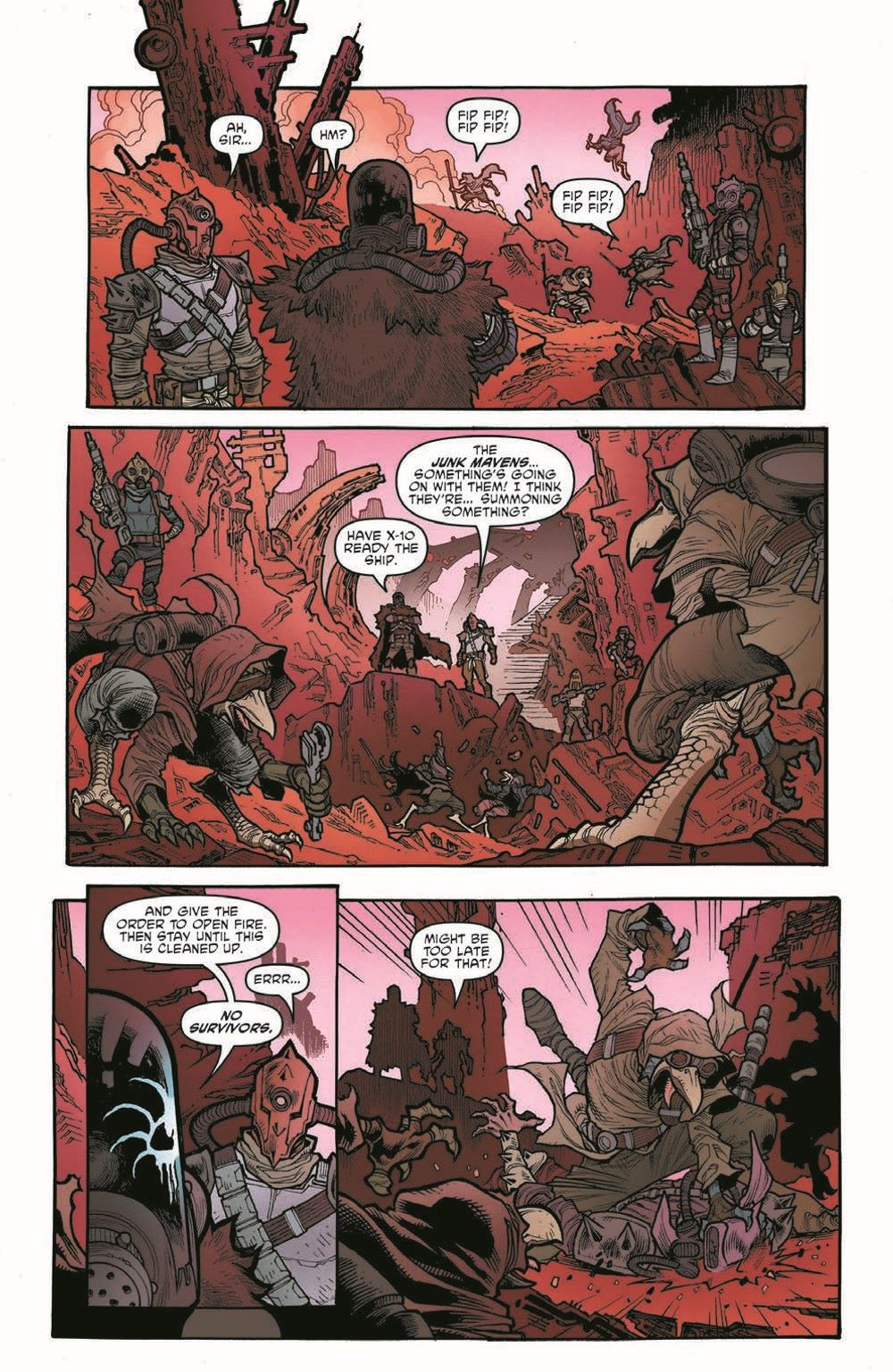 SWHRA05-Pr-5 ComicList Previews: STAR WARS THE HIGH REPUBLIC ADVENTURES #5