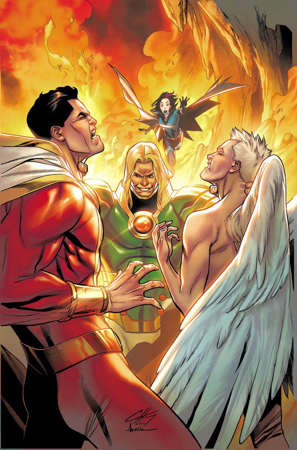 Shazam03_COVER_MAIOLO DC Comics September 2021 Solicitations