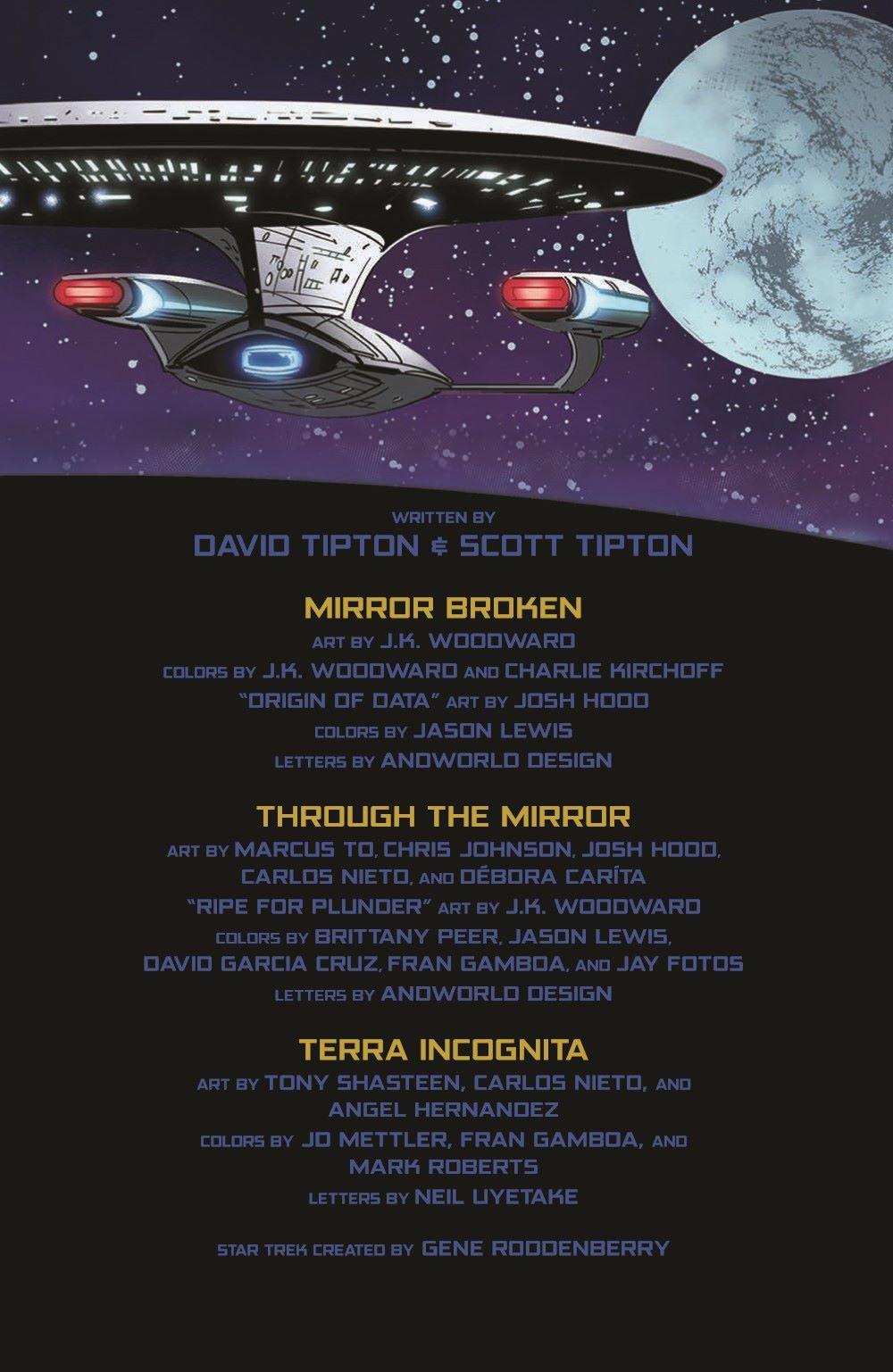Star_Trek-TNG-MUC-pr-3 ComicList Previews: STAR TREK THE NEXT GENERATION MIRROR UNIVERSE COLLECTION TP