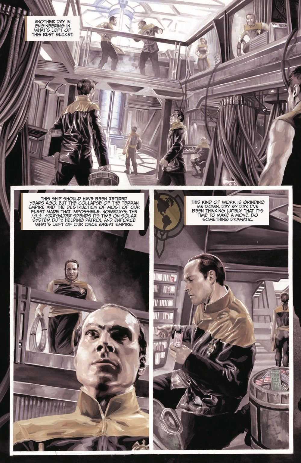 Star_Trek-TNG-MUC-pr-4 ComicList Previews: STAR TREK THE NEXT GENERATION MIRROR UNIVERSE COLLECTION TP