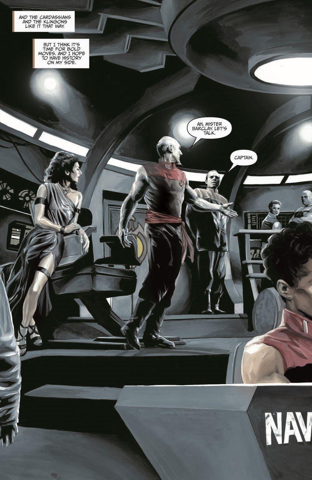 Star_Trek-TNG-MUC-pr-6 ComicList Previews: STAR TREK THE NEXT GENERATION MIRROR UNIVERSE COLLECTION TP