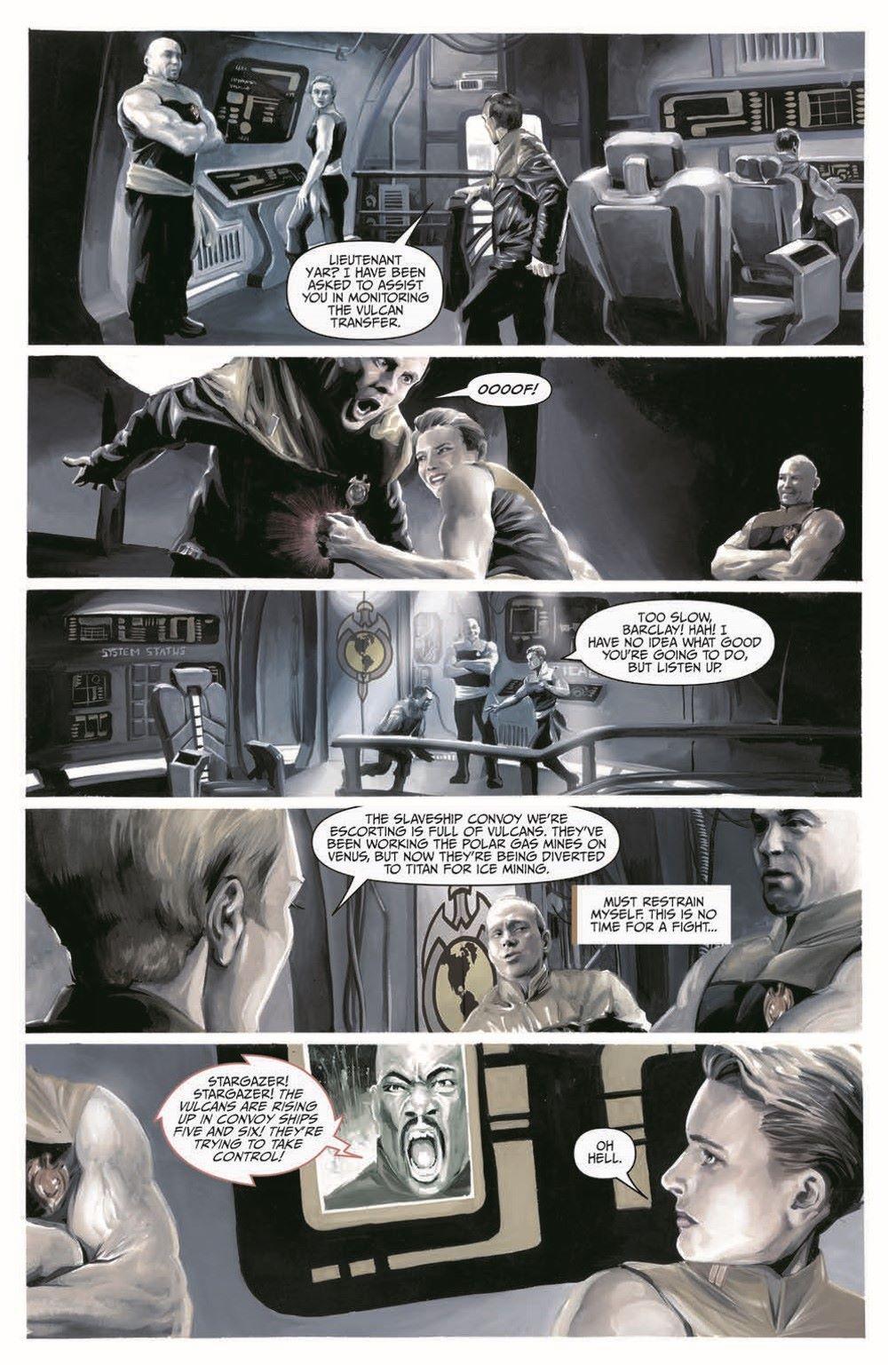 Star_Trek-TNG-MUC-pr-8 ComicList Previews: STAR TREK THE NEXT GENERATION MIRROR UNIVERSE COLLECTION TP