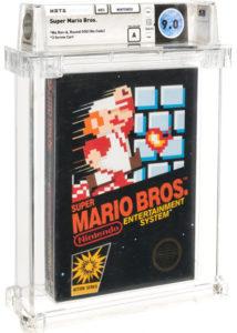 Super-Mario-Brothers-9.0-e1624380493451-214x300 Rare Nintendo Games at Auction Border on $100K