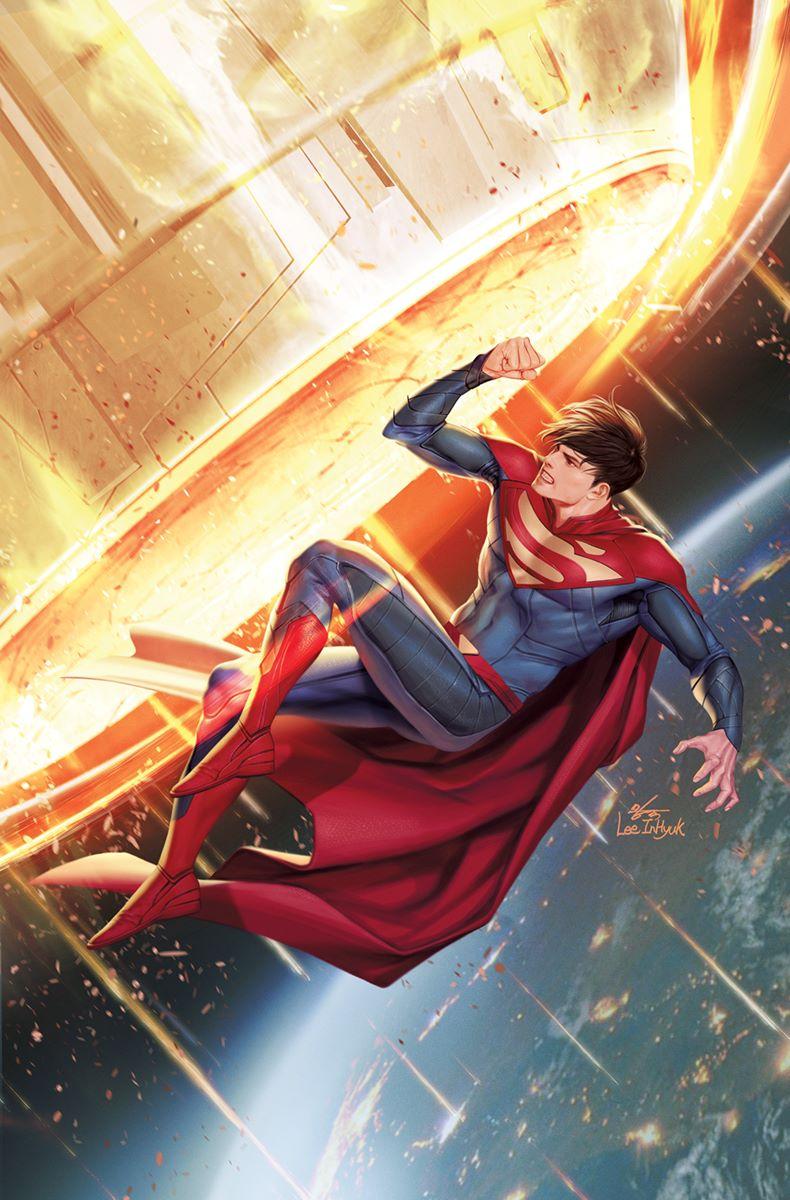 Superman-Son-of-Kal-El-3-final-InHyuk-Lee DC Comics September 2021 Solicitations